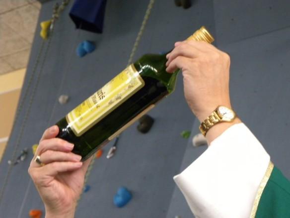 Obětování vína